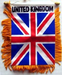Primary image for United Kingdom Window Hanging Flag
