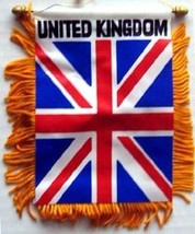 United Kingdom Window Hanging Flag - $3.30