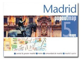 Madrid Popout Map - $8.34