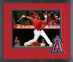 Albert Pujols 2016 Anaheim Angels All Star- 11x14 Team Logo Matted/Framed Photo - $42.95