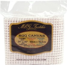 M C G Textiles MCGTD Rug Canvas Mesh 24 by 30 3... - $15.57