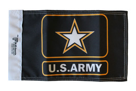 """Army - 5.5"""" x 8.5"""" Motorcycle Flag (Star) - $19.14"""
