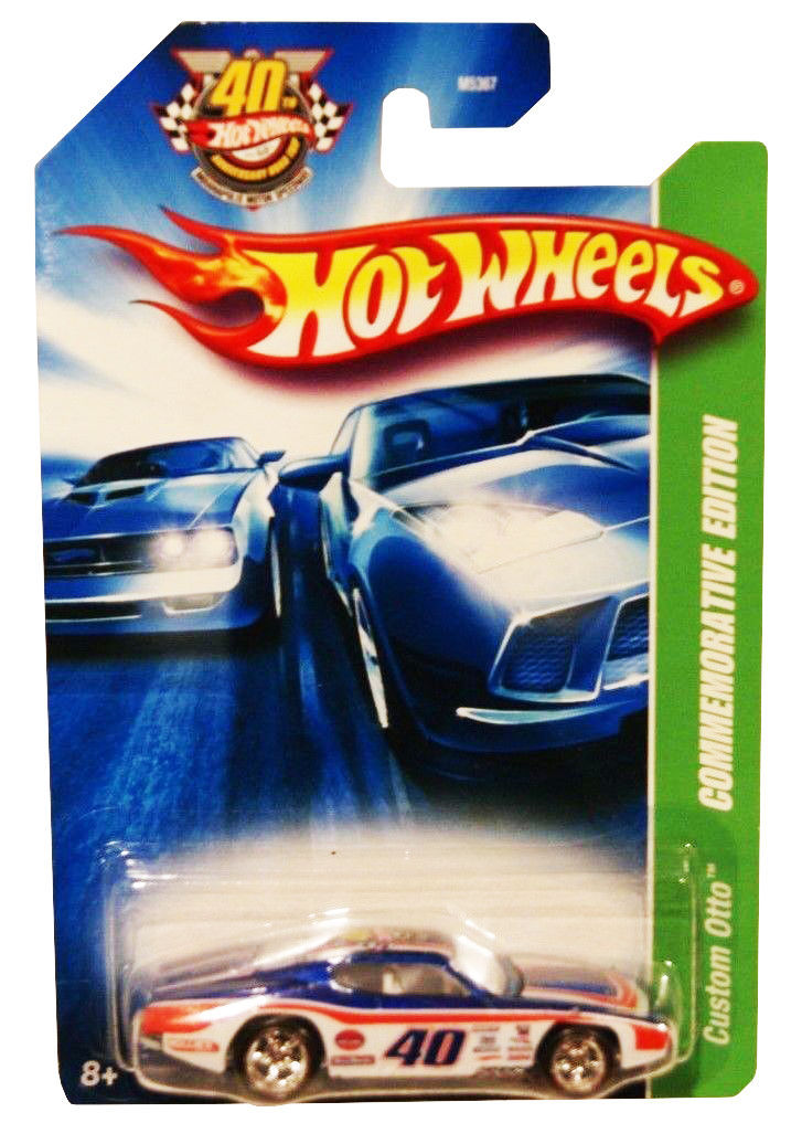 Primary image for Hot Wheels 2008 Custom Otto Commemorative Edition M5367 1:64 Scale diecast.