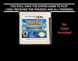 Legit Pokemon Alpha Sapphire 3ds - All 721 - No Badges - Pokebank - No Case - $60.00