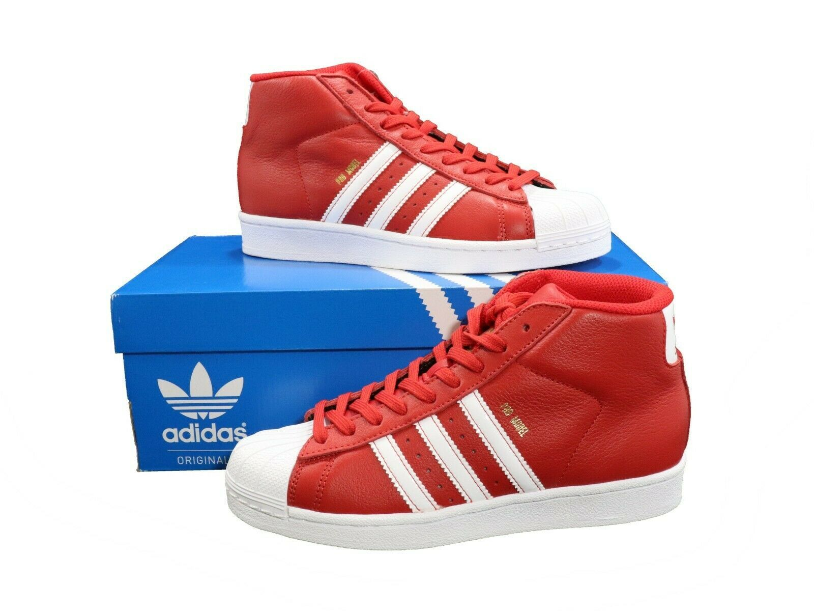 ADIDAS Youth Pro Model Mid Top Shoes sz 4.5Y and 50 similar items