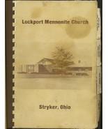 Region Cookbook Ohio OH Stryker Lockport Mennonite Church 1981 Ethnic Co... - $14.87