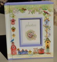 Mini Photo Book bird houses decoration 1998 ExcCond - $4.00