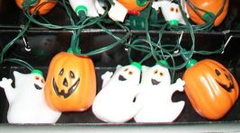 Vintage Pumpkin Ghost String Lights - $28.99