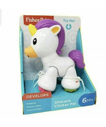 Fisher Price -Unicorn Clicker Pal- Helps Early Development- 6m+ - $13.85