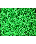 Champ Golf Tees Green, All Sizes Available - $5.49+