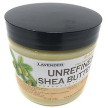 Goldstar Grade A 100% Raw Natural Unrefined Shea Butter with LAVENDER (16 OZ) - $17.81
