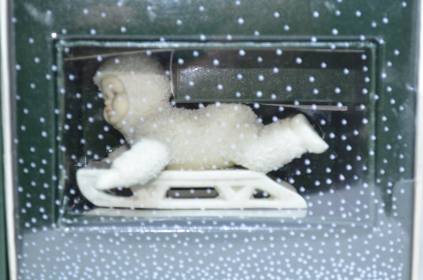 Primary image for Department 56 Snowbabies Hold On Tight With Box 7956-1