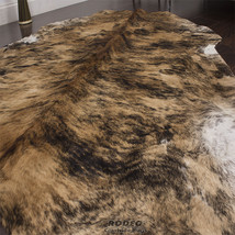Rodeo cowhide rug Brown Brindle 5x7 - $149.99