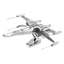 3D Laser Cut Model Star Wars Episode 7 Poe Dameron's X-Wing Fighter - $34.99