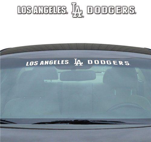 "LOS ANGELES DODGERS 35"" X 4"" WINDSHIELD WINDOW DECAL CAR TRUCK MLB BASEBALL"