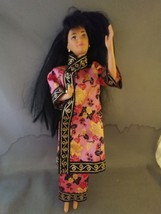 Vintage 1980 KIRA MKO Asian Barbie Doll Twist and Turn w/Outfit - $20.00