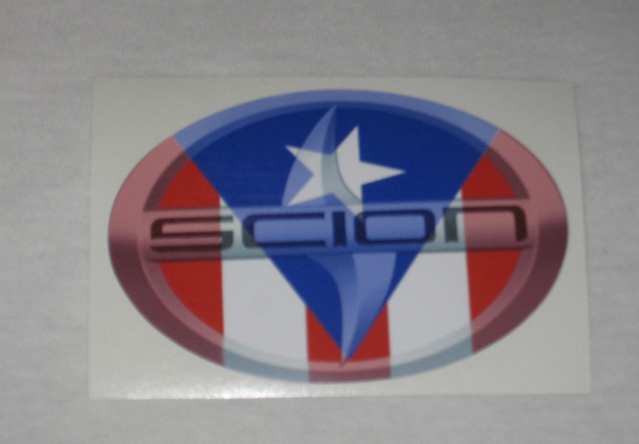 Scion Sticker, Scion Vinyl Sticker, Sticker, Scion