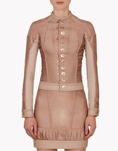 NWT $3475 Dsquared2 Mercy Falls Ruched Leather ... - $999.99