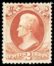 O84, Mint OG HR 2¢ War Dept Official Stamp Cat ... - $120.00