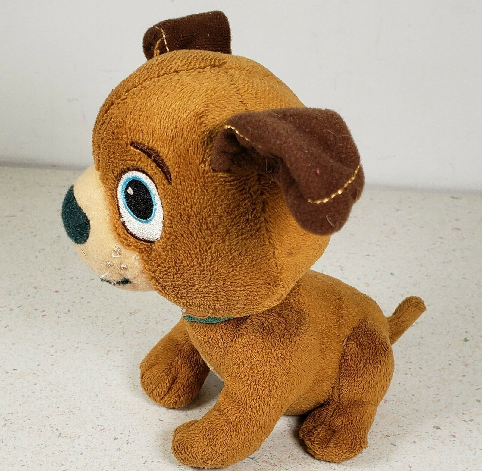 Primary image for Disney Doc McStuffins Findo Brown Puppy Dog Plush Stuffed Animal Toy 6 Inches