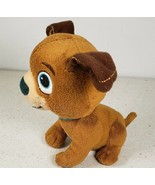 Disney Doc McStuffins Findo Brown Puppy Dog Plush Stuffed Animal Toy 6 Inches - $14.10