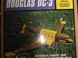 USAF Air Rescue Service Ertl DC-3 C-47 Military Airplane & Stand NIB-FRE... - $50.00