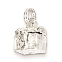 .925 Sterling Silver Cross Prayer Box Charm Pendant 13mm x 11mm - $35.86