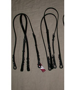 Bobby's Black/Brass Bradoon Strap/Bit Carrier for Double Bridle - Warmbl... - $35.00