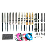 Hammer Head Moveable Points 90% Tungsten Dart Package - 4 sets of Darts ... - $79.95