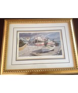 FANTASTIC LIMITED EDITION SIGNED PHIL CAPEN PRINT PROFESSIONALLY FRAMED ... - $107.58