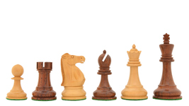 1972 Reproduced Fischer-Spassky Staunton Chess Set in Sheesham/Box Wood R0302 - $149.99