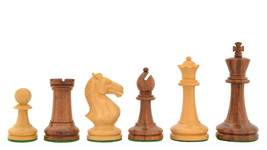 "The GM Blitz Edition Staunton Chess Set in Sheesham & Box Wood-3.75"" King R0303 - $168.99"