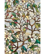 Summer Magnolia Glass Decorative Window Film - $31.27