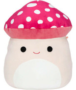 FOLLOW Squishmallow Malcom The Mushroom 8 Inch Plush Red/Pink - $49.89
