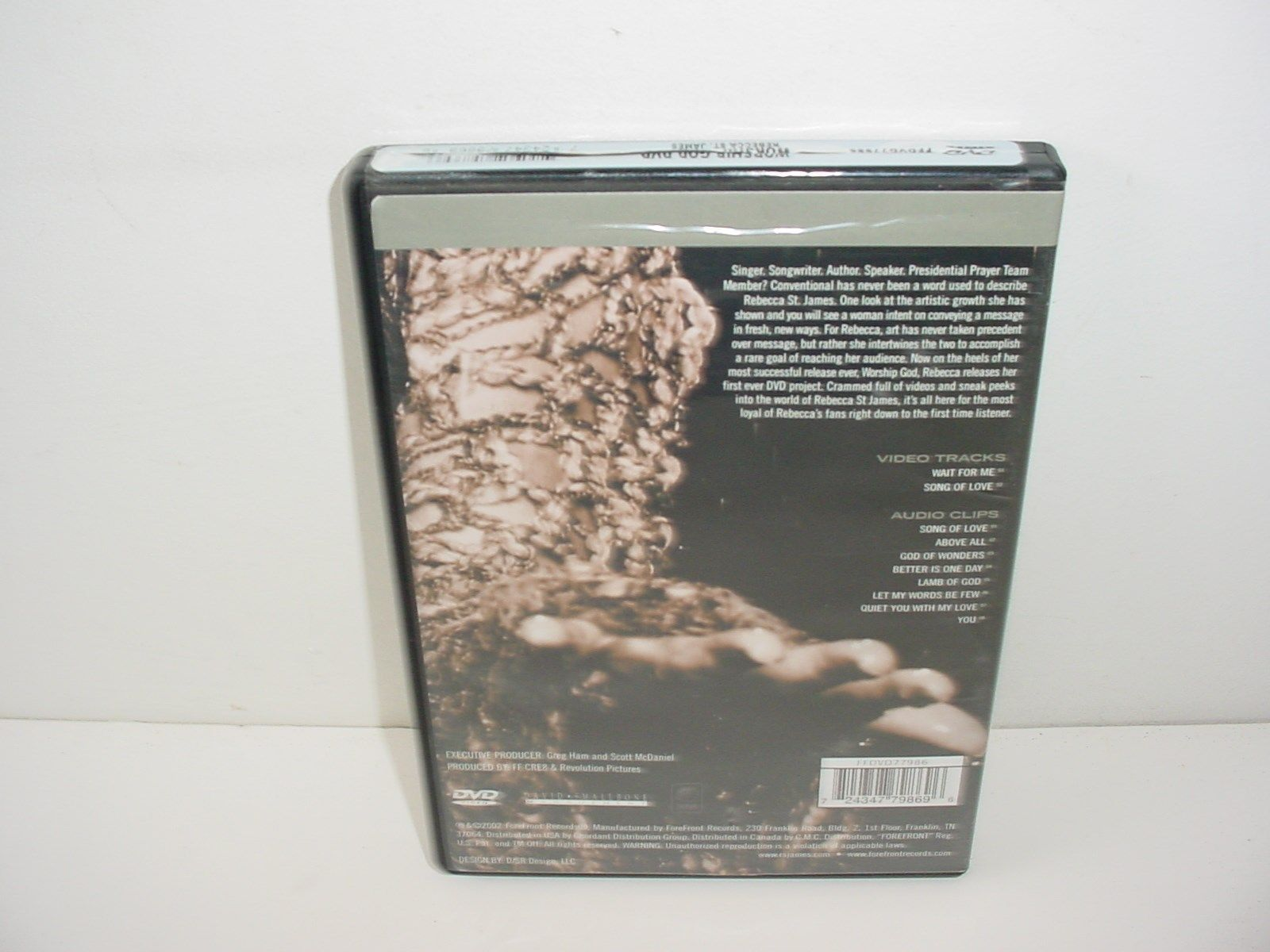 Rebecca St. James Worship God  DVD Movie