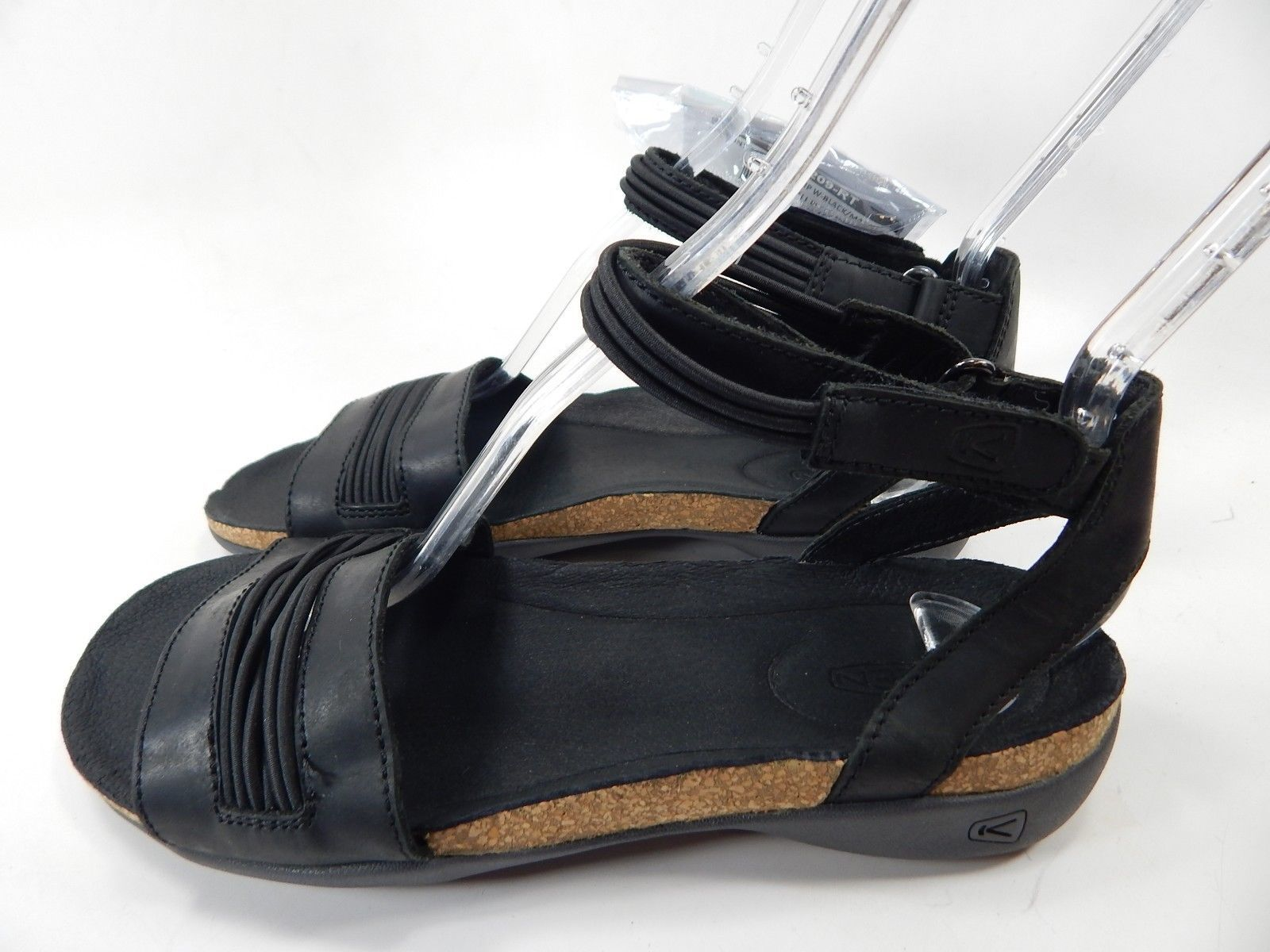 Keen Dauntless Ankle Women's Sports Sandals Size US 7 M (B) EU 37.5 Black Magnet