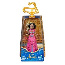 DISNEY PRINCESS COLLECTOR MINI DOLL FIGURE JASMINE ALADDIN LIVE MOVIE, ... - $14.73