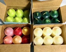 Vintage PARTYLITE Votive Candles - Lot of 24 - Sampler Mystery Potion Va... - $37.37