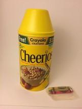 Vintage Cheerios Box Container 1993 Includes Sealed Crayola Crayons Prize - $22.99
