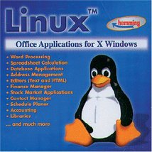 Linux: Office Applications for X Windows [CD-ROM] Linux - $12.24