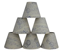 Urbanest Natural Linen 3-inch by 6-inch by 5-inch Linen Chanderlier Lamp... - $39.59