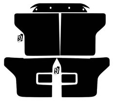Subject 9 - Ford F-150 Pre-cut vinyl overlay Complete Headlight and Tail ligh... - $45.53