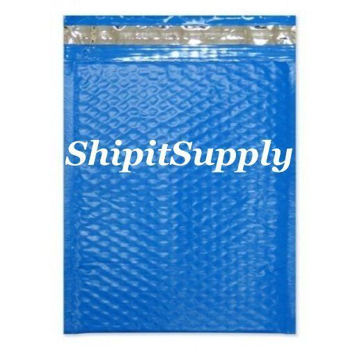 1-500 #0 6x10 Poly ( Blue ) Color Bubble Padded Mailers Extra Wide 6.5x10