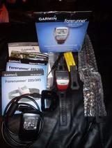 Garmin Forerunner 305 Gps Heart Rate Watch Speed Distance Pace Data + Hrm1 Minty - $26.04