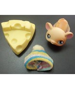 Littlest Pet Shop # 261 Baby Mouse with Snow Ha... - $39.97
