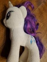 "TY Original Beanie Babies My Little Pony Rarity 7"" Plush Unicorn White &... - $6.93"