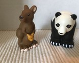 Fisher Price Little People ZOO ANIMAL FRIENDS Panda Kangaroo