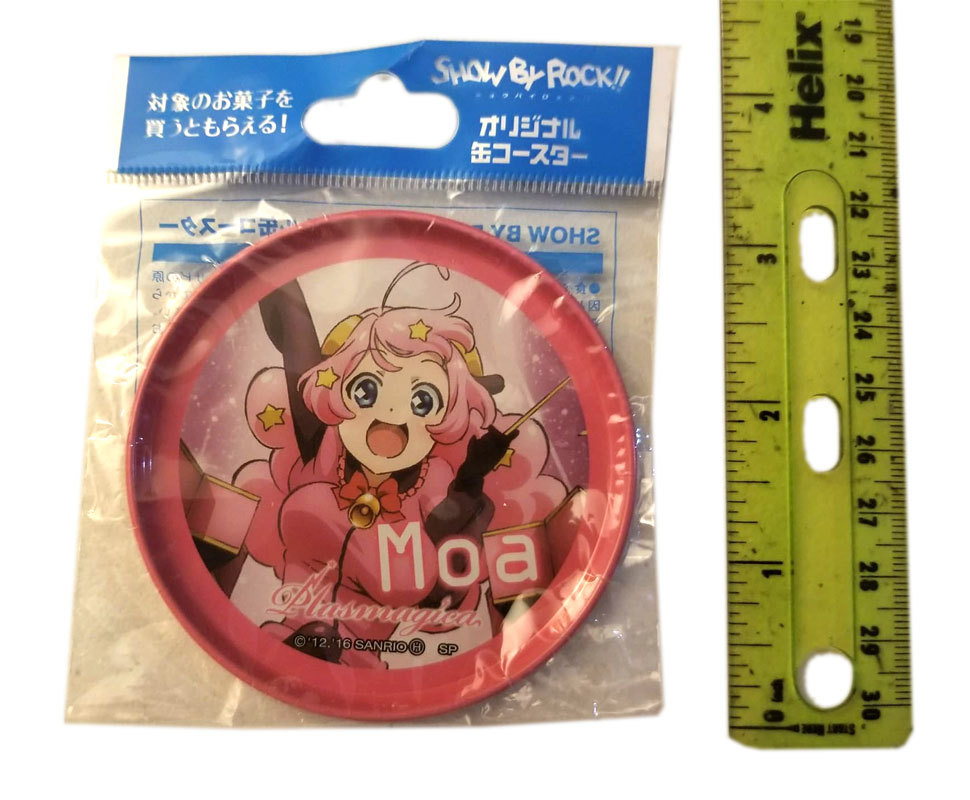 """Show by Rock!! """"Moa"""" Anime Tinplate Button"""