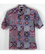 Reyn Spooner- Men's Large Button Up Hawaiian Shirt, Multicolor Floral Pa... - $37.40
