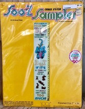 Vintage Soo-Z Sampler Cross Stitch Kit S110 Grow Chart Collectible - $13.46